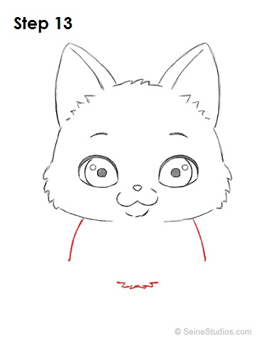 Draw a Cartoon Cat 13